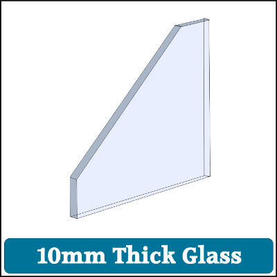 Toughened Glass 10mm Thick