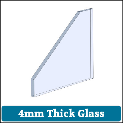 Toughened Glass 4mm Thick
