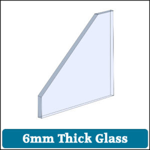 Toughened Glass 6mm Thick