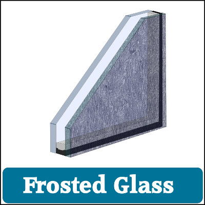 Double Glazed Unit Frosted