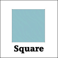 Glass Table Top Protector Square